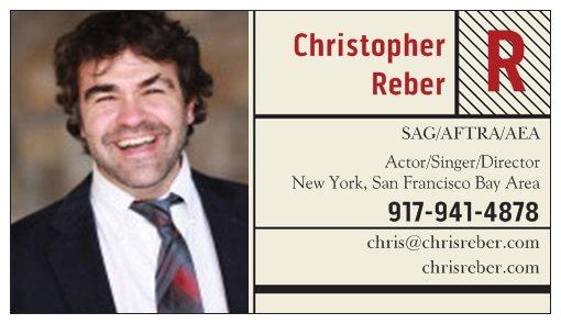 Business card chris rebers website christopher reber colourmoves Choice Image